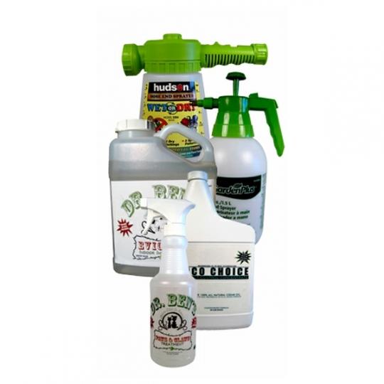 Cedar oil indoor & outdoor pest control kit treats yard, home, pets & more
